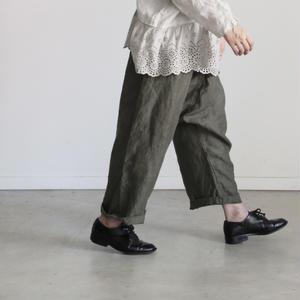 17-0001 Linen Pants  /  KHAKI