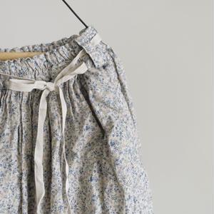 17-0028  Linen Flower Skirt