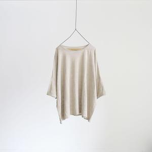 17-0031 Linen Pullover / ECRU