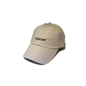 Just only one cap ( WWJD Remake ver.2 ) BEIGE×BLACK Civiatelier