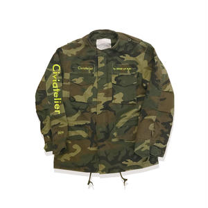 Remake M65 Jacket Just only one Series  (camo×yellow) XS