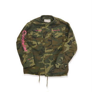 Remake M65 Jacket Just only one Series  (camo×pink) S