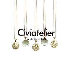 Civiatelier Original 10k Gold Plate (GP) Necklace