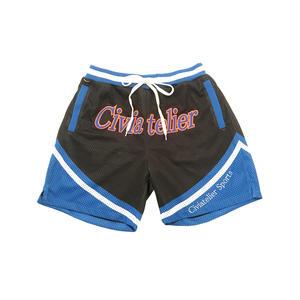 Civiatelier Original basket jersey short pants BLACK*BLUE