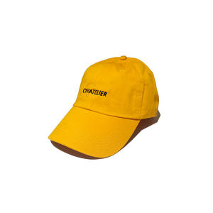 Just only one cap ( WWJD Remake ver.2 ) GOLD YELLOW×BLACK Civiatelier