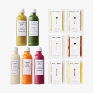 【店頭受取り専用】Juice Cleanse 1day × 準備&回復食SET ※日時電話にて確認