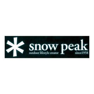 snow peak スノーピークロゴステッカー アスタリスク