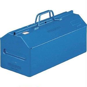 山型中皿付ツールボックス ブルー