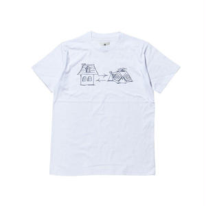 snow peak Graffiti Home Tent Tshirt White
