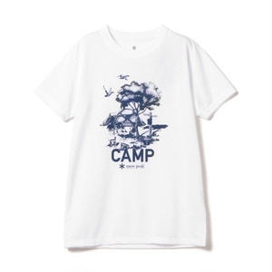 snow peak Printed Tshirt Camp Field