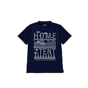 snow peak Solid Home Tent Tshirt Navy