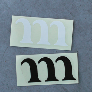 "MURACO STICKER ""M"""