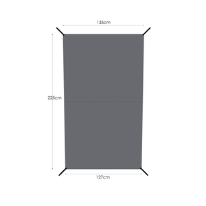 MURACO(ムラコ) GROUND SHEET for 2P TENT