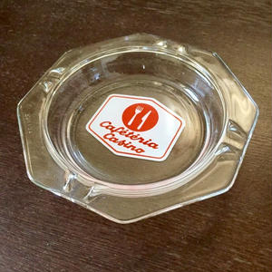 Cafeteria Casino:Glass Ashtray (made in France)