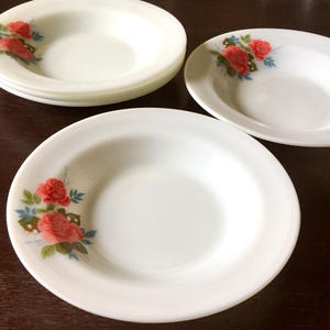 Lily & Rose Soup plate(Cottage Rose  )