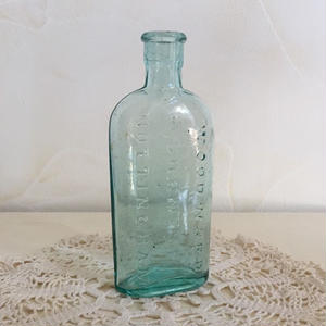 "ClearBlue Poison Bottle (England)""WOODWARD CHEMIST NOTTINGHAM"""