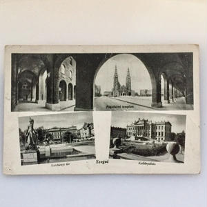Vintage Photo - Postcard (Hungary)