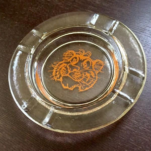 Esso Tiger : Glass Ashtray(made in USA)