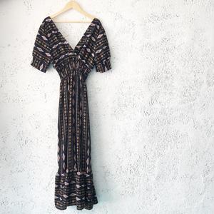 ethnic  dress BLACK