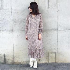 pedicel long dress