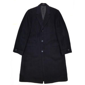 OLD Cashmere Chester Coat / Navy / Used
