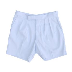 "British Navy ""Dead Stock"" 2 Tuck Shorts / White"