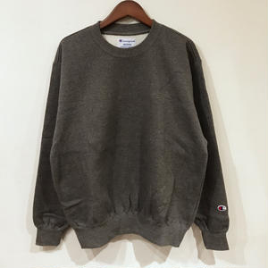 90s Champion / Brushed back Sweater / Dk Gray