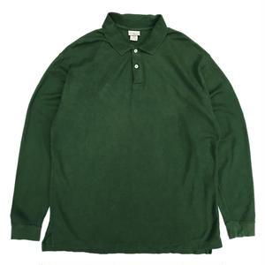 L.L.Bean / L/S Polo Shirt / Green / Used