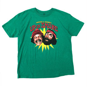 Made in USA / Vintage Cheech & Chong Tee / Green