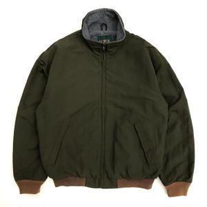 Made in USA / 90s J.CREW / Nylon Jacket / Olive / Used