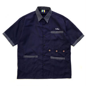 Bedlam / India Work Shirts / Navy