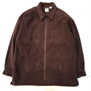 Dead Stock / Corduroy Shirt Jacket / Brown / Used