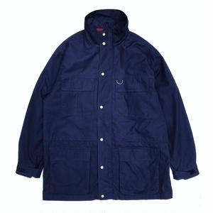 90s Eddie Bauer / Mountain Parka /  Dark Navy  / Used