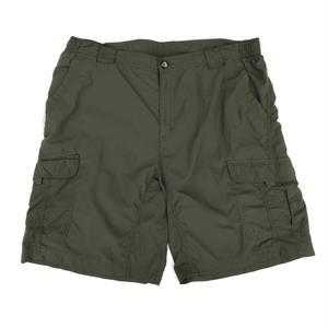 Old Columbia Nylon Shorts / Khaki / USED