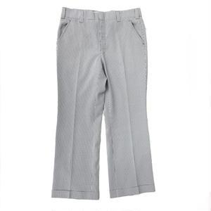 Seersucker Pants / Grey / Used