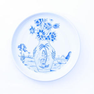 SON OF THE CHEESE / SERGIO MORA PLATE FLOWER / WHITE