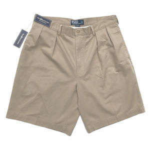 Dead Stock / Polo Ralph Lauren / 2Tuck Shorts  / Beige