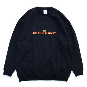 【予約商品】Color at Against Originals / Chunk Sweat / BLACK