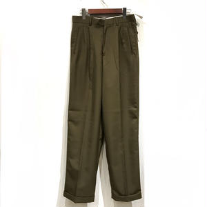 Dead Stock / OLD SLACKS / olive