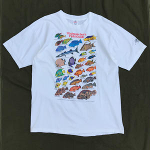 Old Fish Tee / White / Used