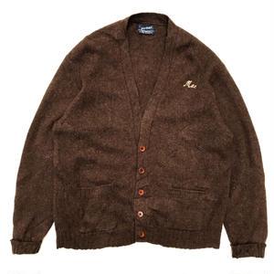 Made in USA / puritan  / Wool Cardigan / Brown / Used