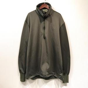 Made in USA / Military Half Zip Sleeping Shirt / Olive