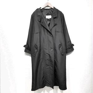OLD Nylon Trench Coat / Black