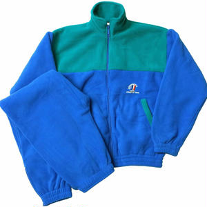 French Military / Fleece Set Up / Blue × Green