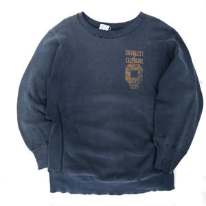 "90s Champion /  Reverse Weave Sweater ""CARIFORNIA"" / NAVY M"