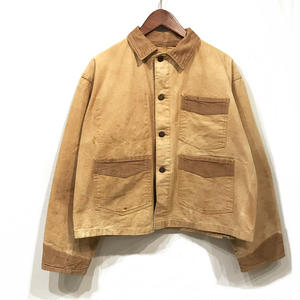 50s Vintage / Duck Coverall / Brown