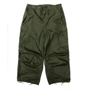 Made in USA / US ARMY Dead Stock Wind Over Pants / Pocket Custom / Khaki