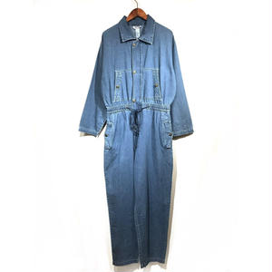 DEAD STOCK / UNISEX DENIM JUMP SUITS / Indigo