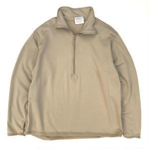 Made in USA / Mid Weight Cold Weather Gen 3 POLARTEC  FLEECE Pulover / Coyote L