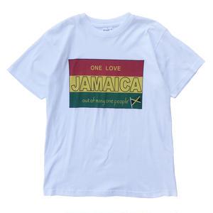 Old Jamaica Tee / White / USED